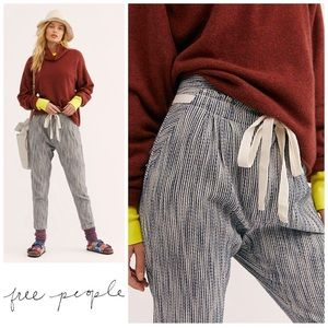 FREE PEOPLE | High-Waisted Cotton Pant